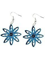 Designer's Collection Paper Quilling Ear Rings for Women-DSERB020