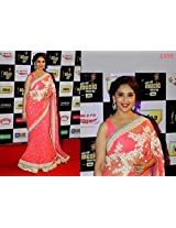 Madhuri Dixit In Sabyasachi Saree At Radio Mirchi Music Awards 2014