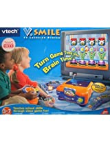 V. SMILE TV LEARNING SYSTEM WITH ALPHABET PARK ADVENTURE SMARTRIDGE