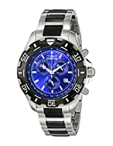 Invicta Analog Blue Dial Men's Watch - 6408