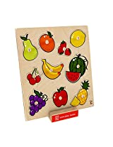 Hape - Home Education - Fruit Knob Puzzle
