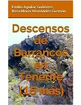 Descensos de barrancos en Tenerife (15 más) (Spanish Edition)
