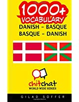 1000+ Danish - Basque, Basque - Danish Vocabulary