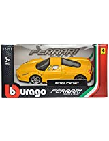 Bburago Enzo Ferrari Scale-1:43 Die Cast Toy Car (Yellow)
