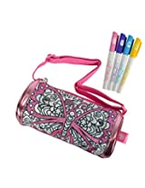 Simba Color Me Mine Diamond Party Roll Bag, Pink