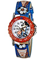 Disney Analog Multi-Color Dial Children's Watch - 3K1552U-MK-017BE