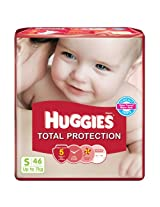 Huggies Total Protection Small Size Diapers (46 Count)