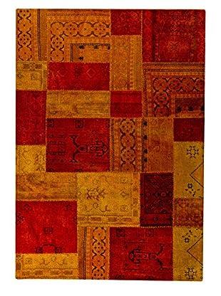 Mat Vintage Renaissance Rug (Red/Orange)