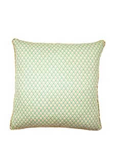 """Lacefield Designs Calais 20"""" x 20"""" Pillow, Turquoise"""