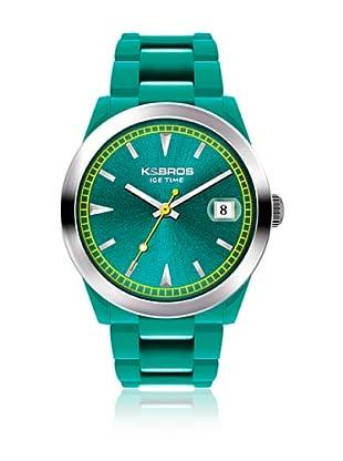 K&BROS Reloj 9539 (Turquesa)
