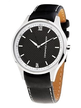 Adolfo Dominguez Watches 68003 - Reloj de Caballero cuarzo correa piel Negra