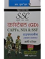 SSC: Constable (GD) CAPFs (ITBPF/CISF/CRPF/BSF/SSB), NIA, SSF & Rifleman (Assam Rifles) (Hindi): Constable (GD) CAPFs (ITBPF/CISF/CRPF/BSF/SSB), NIA, ... (Assam Rifles) (Popular Master Guide)
