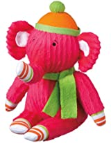 "Monkeez ""Stella"" Mini Pink Elephant Plush"