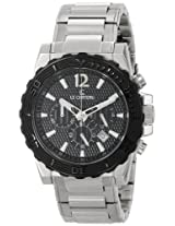 Le Chateau Men's 5416M_BLK Sports Dinamica Collection Watch