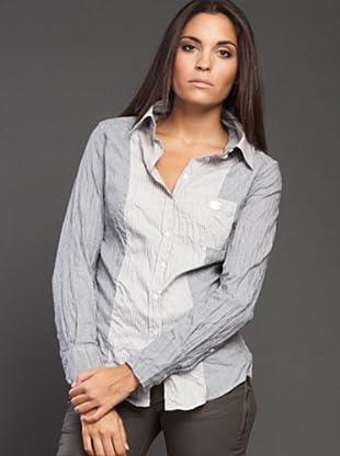 Ikks Camisa Strech (gris)