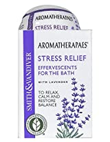 Aromatherapaes Stress Relief Bath Ball Fizzy 10/ 2.8 oz. pc