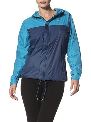 New Balance Women's Windcheater Jacket (Enamal Blue)