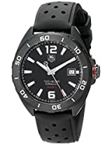TAG Heuer Men's WAZ2115.FT8023 Analog Display Swiss Automatic Black Watch