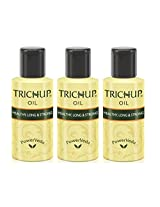 Trichup Healthy Long & Strong Hair Oil 300ml. (Free Oil Control Face Wash)