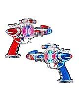 Light Up Space Blaster Gun (1 Pc)