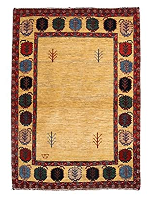 Darya Rugs Persian One-of-a-Kind Rug, Tan, 3' 7