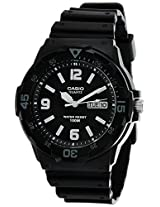 Casio Enticer Analog Black Dial Men's Watch - MRW-200H-1B2VDF (A594)