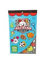 WeGlow International All Star Sports Sticker Books (4 Books)
