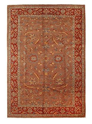 Darya Rugs Oushak Oriental Rug, Red, 6' 7