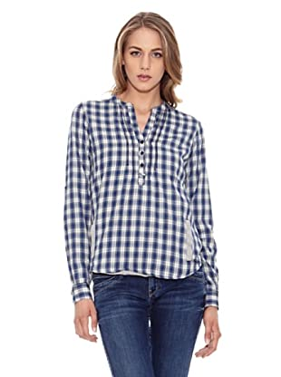 Pepe Jeans London Bluse Holly (Blau/Weiß)