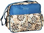 Ollington Street Diaper Bag With Floral Print - Blue