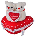 Giftwallas Acrylic And Polyster Fibre Soft Toy ( Red, 18X20 cm )