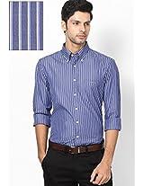 Blue Casual Shirt(Regular) Gant