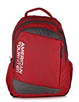 Urbane Red Backpack American Tourister