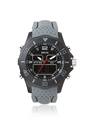 Breda Men's 9309 Drew Grey/Black Alloy Watch