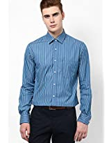 Blue Formal Shirt Peter England