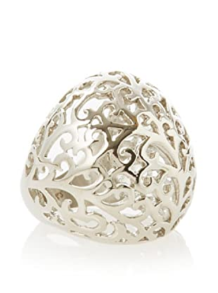 Chloe Collection By Liv Oliver Cutout Scroll Ring,