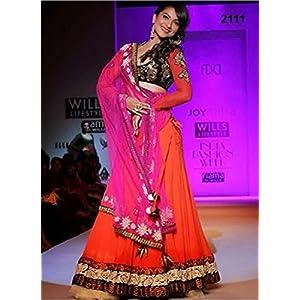 Indian Bollywood Actress Gauhar Khan bollywood lehenga
