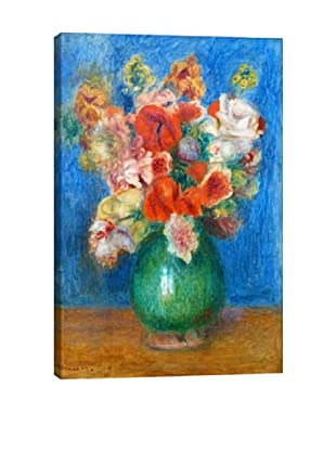 Pierre-Auguste Renoir's Vase with Flowers Giclée Canvas Print