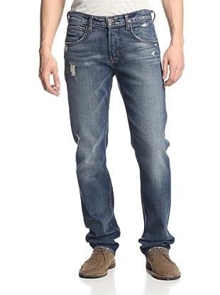 Hudson Jeans Men's Byron Five Pocket Straight Fit Jeans (Bentley)