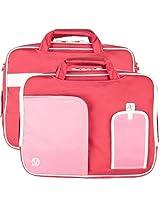 Vg Inc Laptop Messenger Bag (Pink)