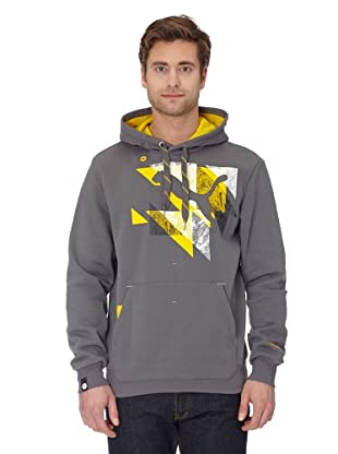 Puma Hoodie Logo Fleece (castlerock-lemon)