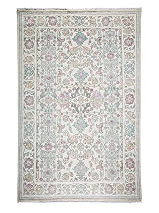 Darya Rugs Oushak One-of-a-Kind Rug, Ivory, 8' 6