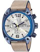 Diesel End-of-Season Overflow Analog Beige Dial Men's Watch - DZ4356