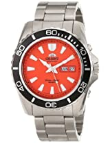 Orient Men's Orange Mako XL 200m Diver's Watch 21 Jewels CEM75001M