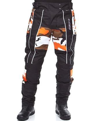Kenrod Pantalón Protecciones Camuflaje (negro)