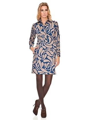 Tonalá Vestido Fusión (Azul)