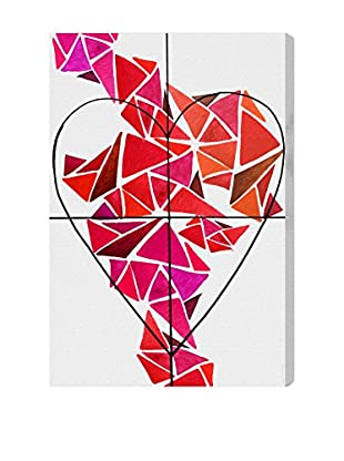 Oliver Gal Artist Co. Piece of My Heart, Multi, 30