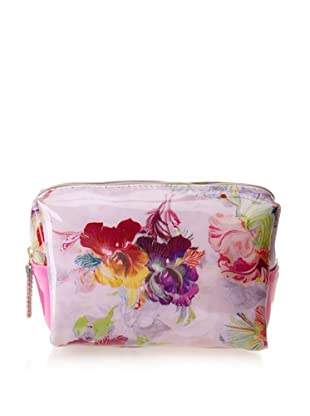 Ted Baker Women's Eller Washbag, Deep Pink