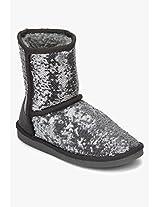Ankle-Length Grey Boots Carlton London