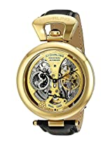 Stuhrling Original Grandeur Analog Gold Dial Men's Watch - 127A.333531